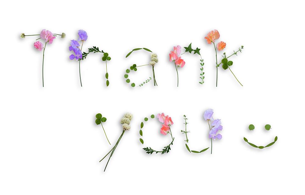 笑顔と「ありがとう」